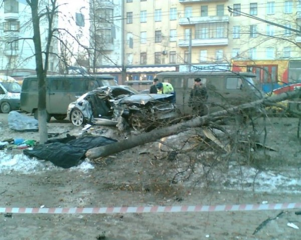 Авария в Челябинске (12 фото + видео)