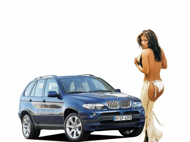 Девушки и машины (140 фото)