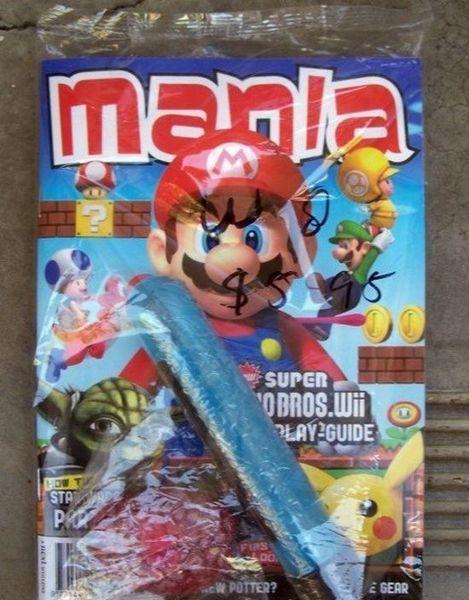 Супер Марио для развратных двочек (3 фото)