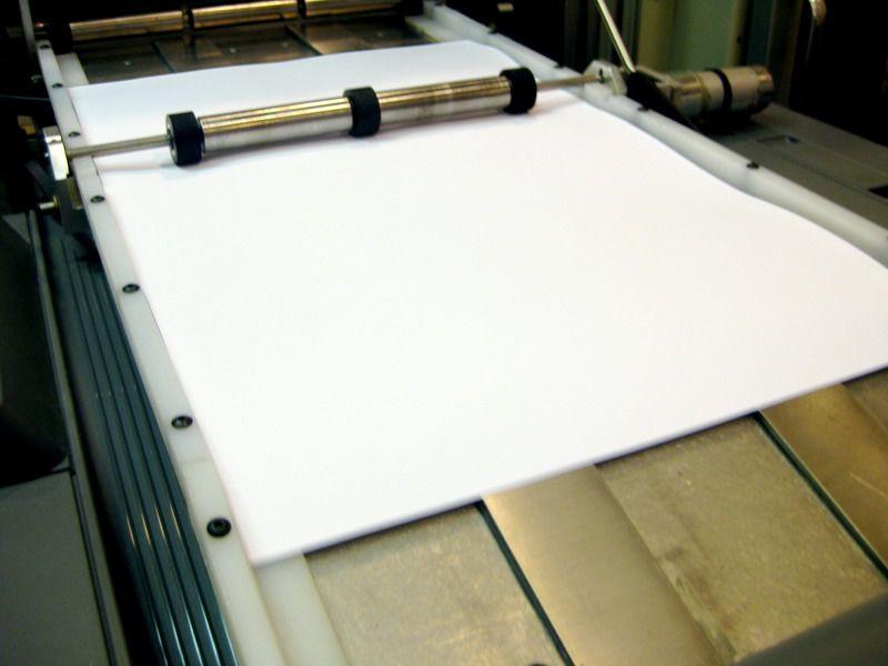Машина может распечатать, сшить и обернуть книгу за пять минут. В