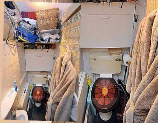 Самая маленькая квартира в центре Лондона (5 фото)