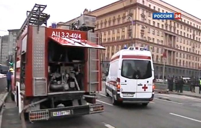 Теракт в Москве (5 видео)