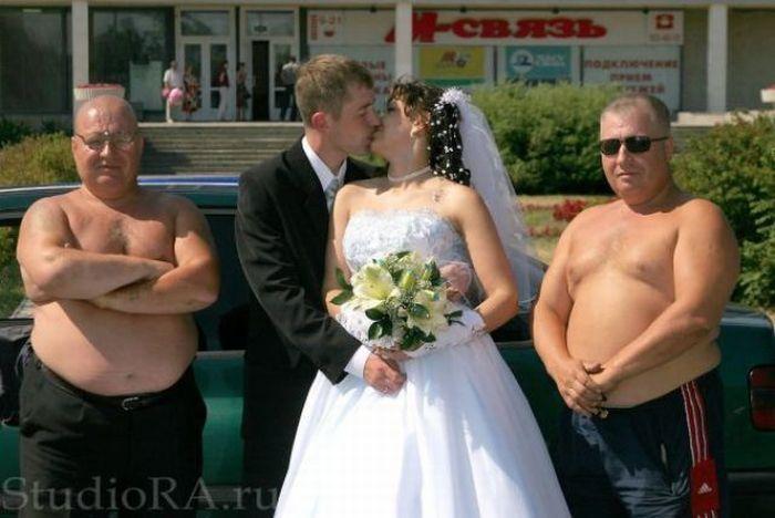 Неудавшиеся свадебные фотографии (21 фото)