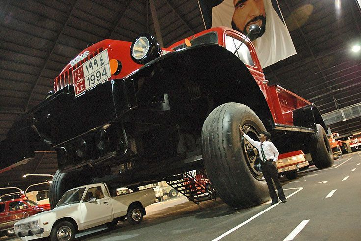 Самые большие автомобили мира фото