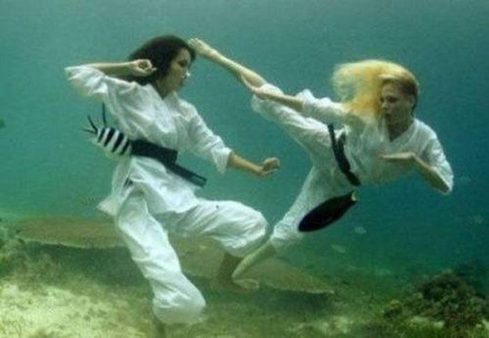 Спорт под водой (15 фото)