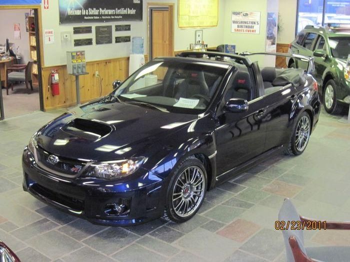 Кабриолет на базе Subaru Impreza WRX STI (7 фото)