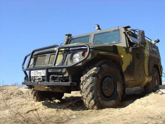 Защитник отечества ГАЗ 2330 Тигр (4 фото+текст)