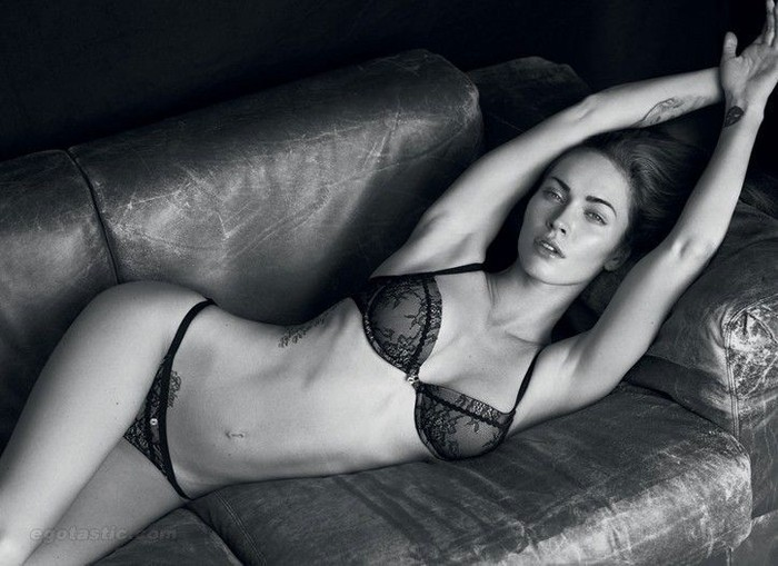 Megan Fox в рекламе Армани (13 фото)