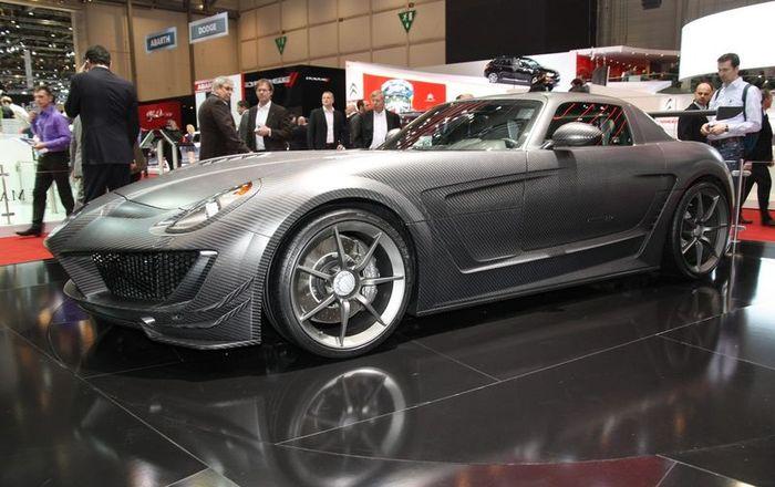 Ателье Mansory представило Mercedes SLS Cormeum (24 фото+видео)
