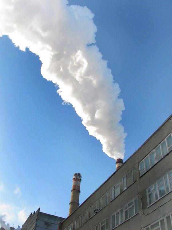 ТЭЦ-1 или фабрика облаков (50 фото)