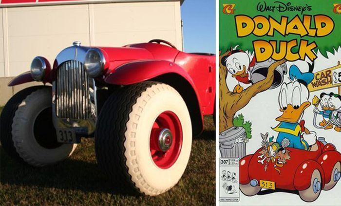Настоящий автомобиль Дональда Дака (10 фото)