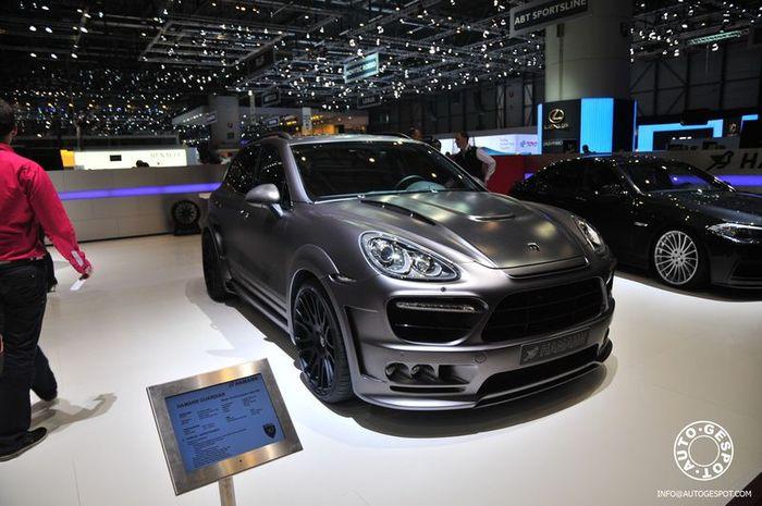 Porsche Cayenne Guardian от ателье Hamann (12 фото)