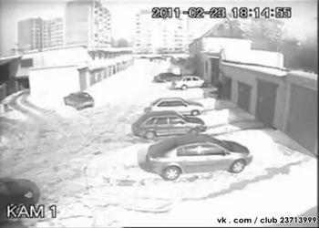 Взрыв газового баллона в гараже