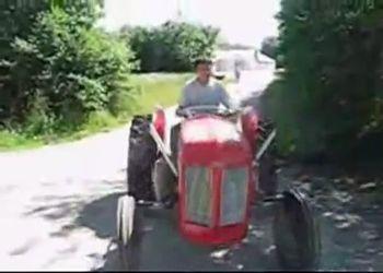 Трактор с двигателем от VW Golf GTI