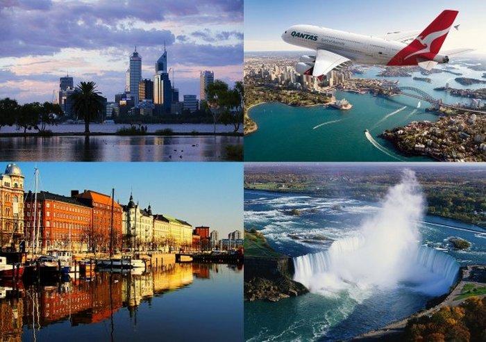 Лучшие города мира для проживания (60 фото + текст)