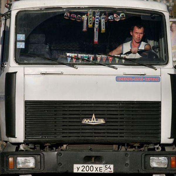 Водители, колесящие по русским дорогам (17 фото)