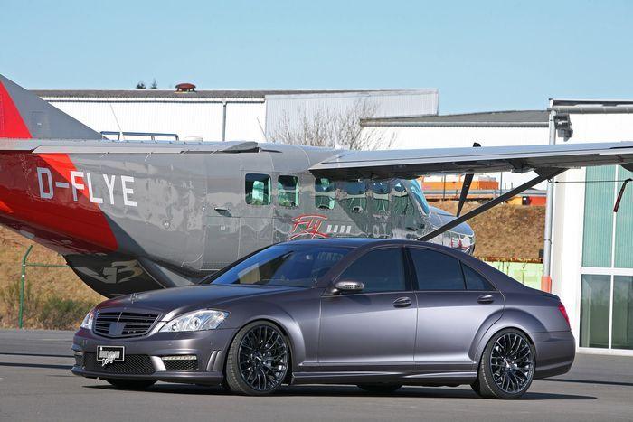 Ателье Inden Design зарядило Mercedes-Benz S500 (20 фото)