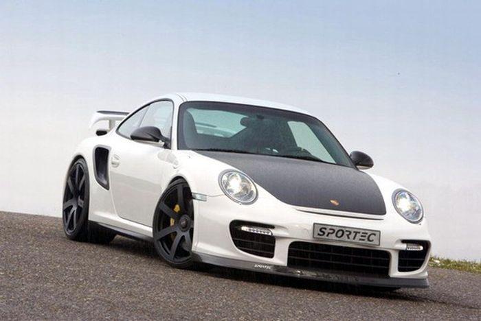 Porsche 911 GT2 RS от ателье Sportec (7 фото+видео)