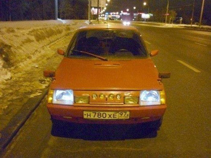Таврия - свежий тюнинг ушедшего в историю авто (15 фото)