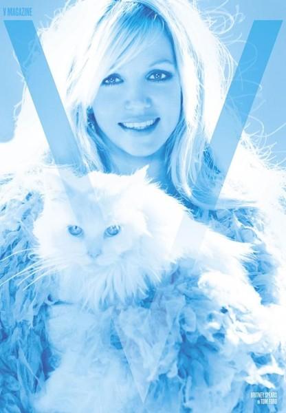 Britney Spears для журнала V март 2011 (7 фото)