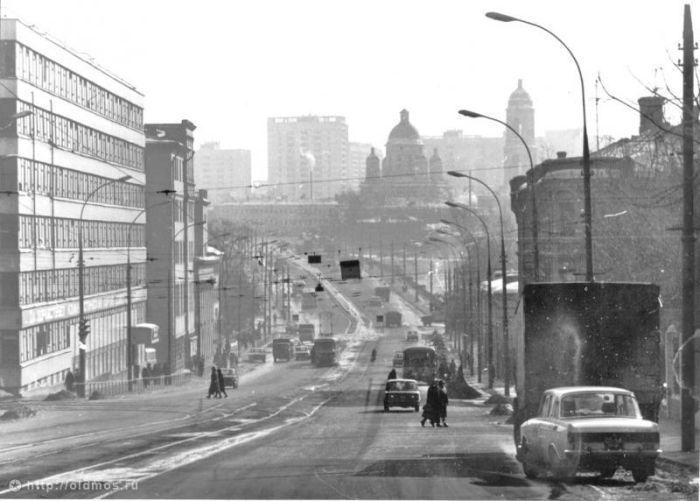 2. Костомаровский переулок. Фото 1977-1980 года: