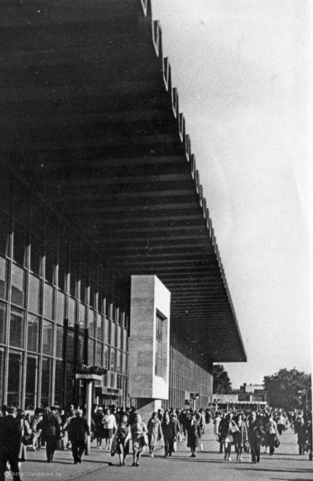 5. Курский вокзал. Фото 1970-1975 года: