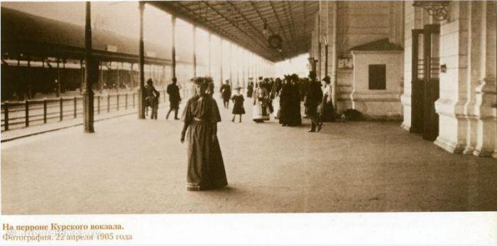 6. Курский вокзал. Фото 1905 года: