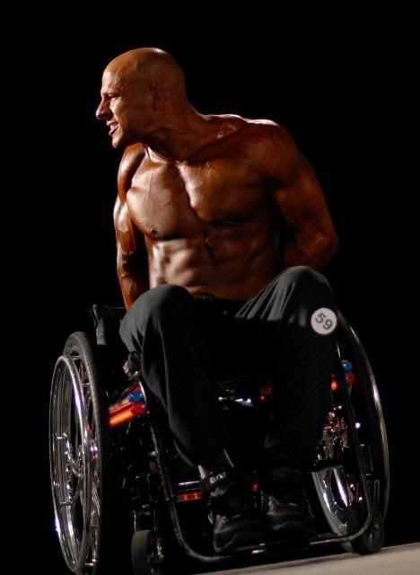 Ник Скотт - бодибилдер колясочник (33 фото + 2 видео)