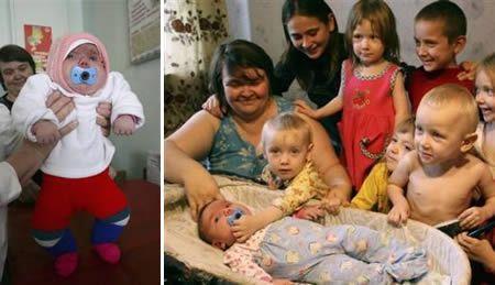 Самый толстый новорожденный