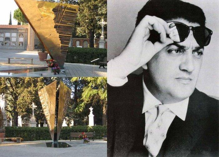 Знаменитые люди ХХ-го века и их могилы (28 фото + текст)