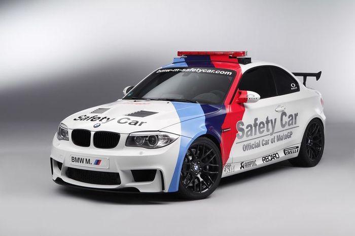 BMW 1-Series M Coupe Safety Car для MotoGP (40 фото)