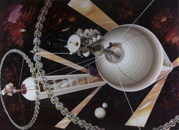 Жизнь в космосе (16 фото)