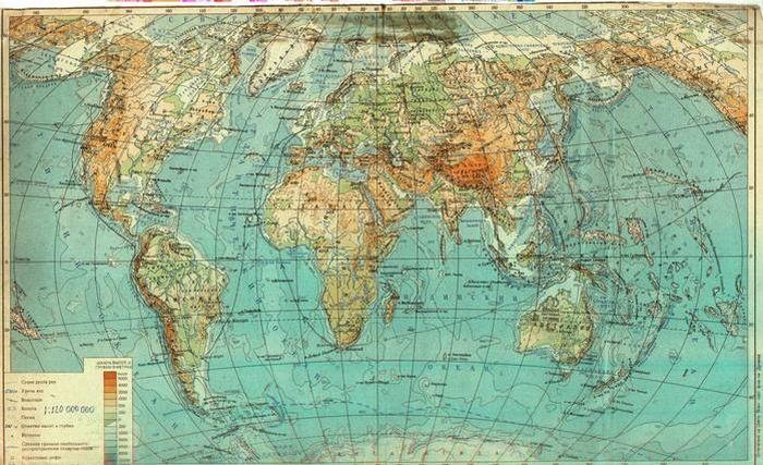 Карта мира с другой точки зрения (10 фото)