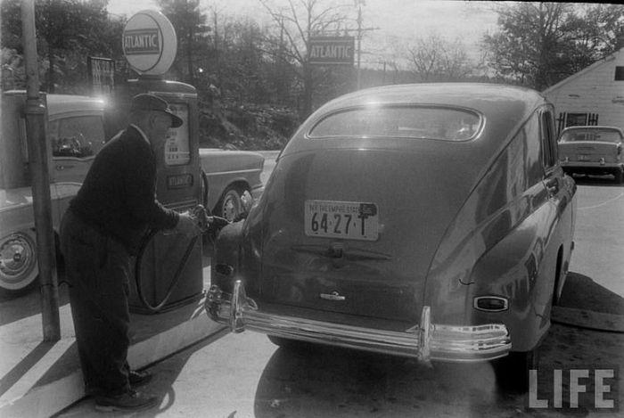 "1956 год, ГАЗ-М20 ""Победа"", фотографии из архива журнала LIFE"