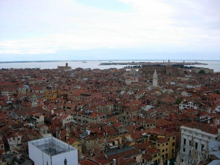 Венеция с высоты птичьего полета (17 фото)