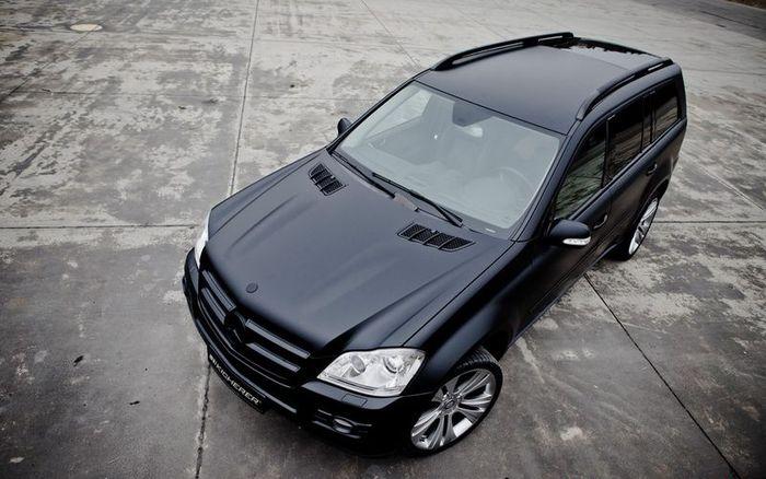 Mercedes-Benz GL 420 CDI от тюнинг-ателье Kicherer (9 фото)