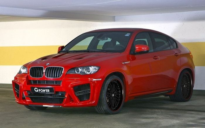 Ателье G-Power прокачало BMW X6 M - Typhoon S (10 фото)
