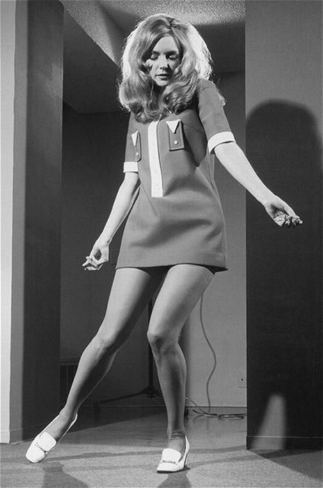 Ретро мини-юбки (38 фото)