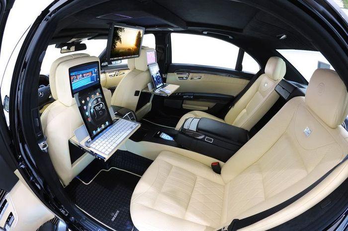 Brabus iBusiness 2.0 - самый быстрый офис на колёсах (27 фото)