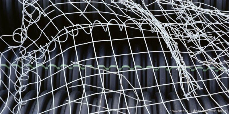 21.Решетка на черных трубах (Grids on Black Tubes)<br>  Нью-Джерси, 2010 год.