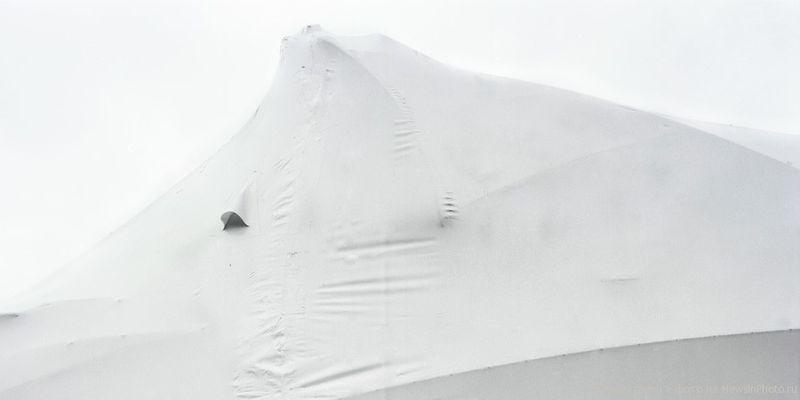 25.Завернутая лодка (Wrapped Boat)<br>  Нью-Джерси, 2009 год.