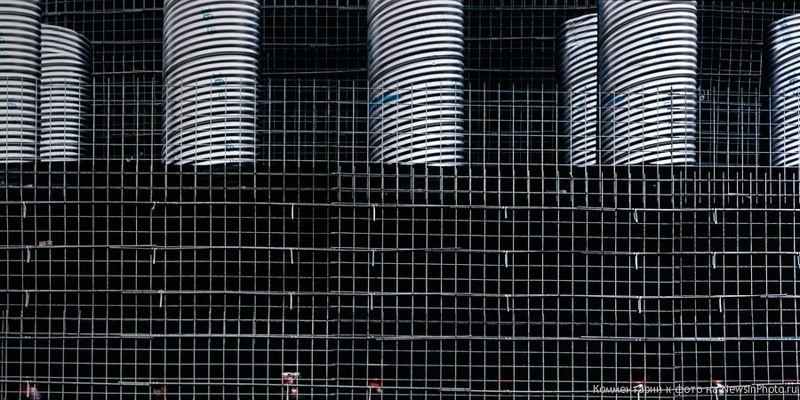 26.Решетка и дренажные трубы (Grid Wall & Culvert Tubes)<br>  Нью-Джерси, 2009 год.