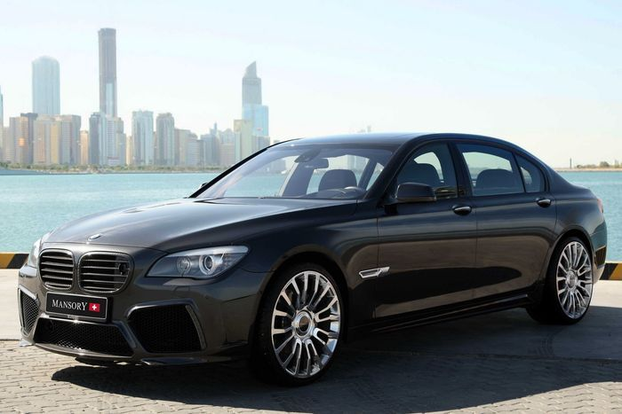 Mansory (Switzerland AG) прокачали BMW 7-й серии в кузове F01 и F02 (10 фото)