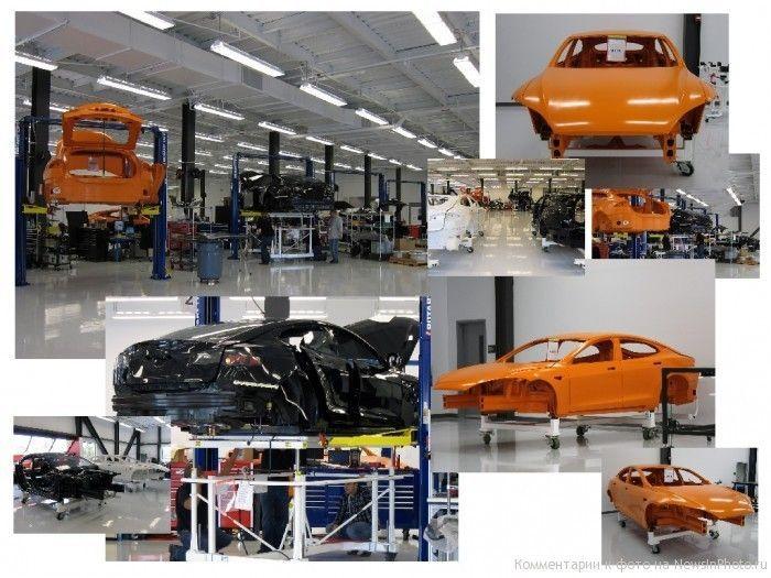 Экскурсия на завод по производству автомобилей Tesla (28 фото)