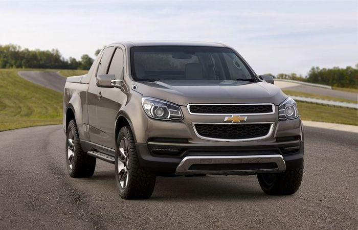 General Motors представит новый пикап Chevrolet Colorado (18 фото)