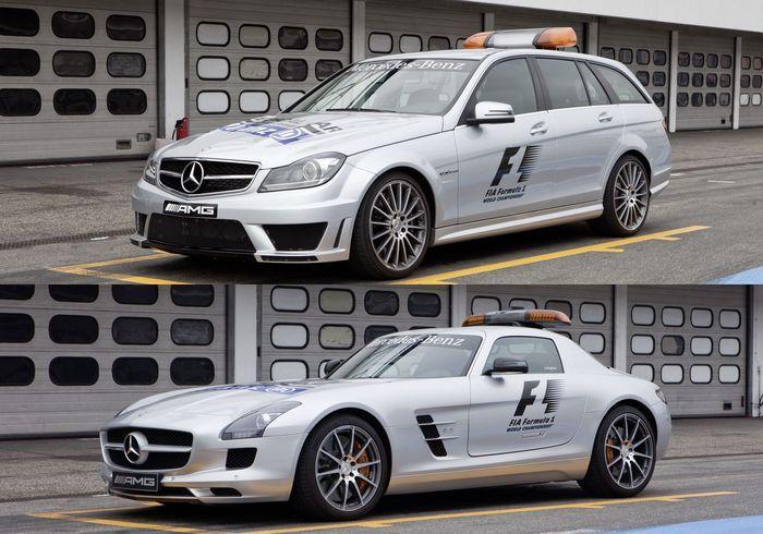 Карета скорой помощи и авто безопасности для гонок Формулы-1 (18 фото)