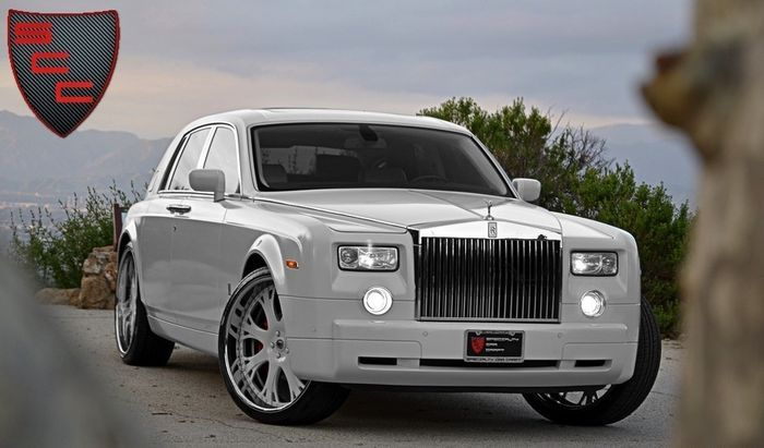 "Rolls Royce Phantom под названием ""Кокаин"" (8 фото)"