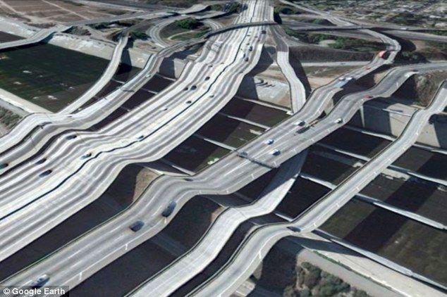 3D вид со спутника на Google Earth (8 фото)