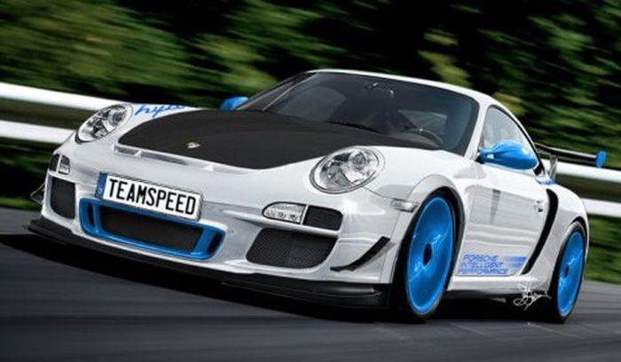 911 GT3 RS 4.0 Limited Edition - последняя модель в 997 кузове (5 фото)