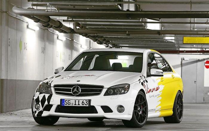 Ателье Wimmer изменили внешний вид Mercedes-Benz C63 AMG (14 фото)